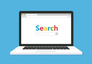 search engine homepage